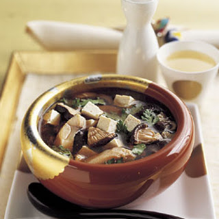 Sukiyaki with Red Snapper