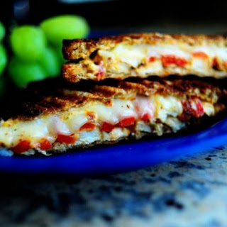 Grilled Chicken and Roasted Red Pepper Panini.
