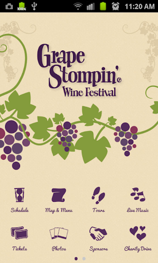【免費娛樂App】Grape Stompin' Wine Festival-APP點子