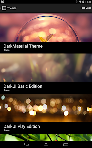 DarkMTRL ThyrusHolo CM11 Theme v4.3