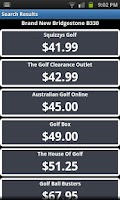 Screenshot of Golf Ball Bargains