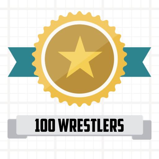100 Wrestlers - Trivia Quiz 拼字 App LOGO-APP開箱王