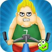 Fat Man Fitness Game - Get Fit
