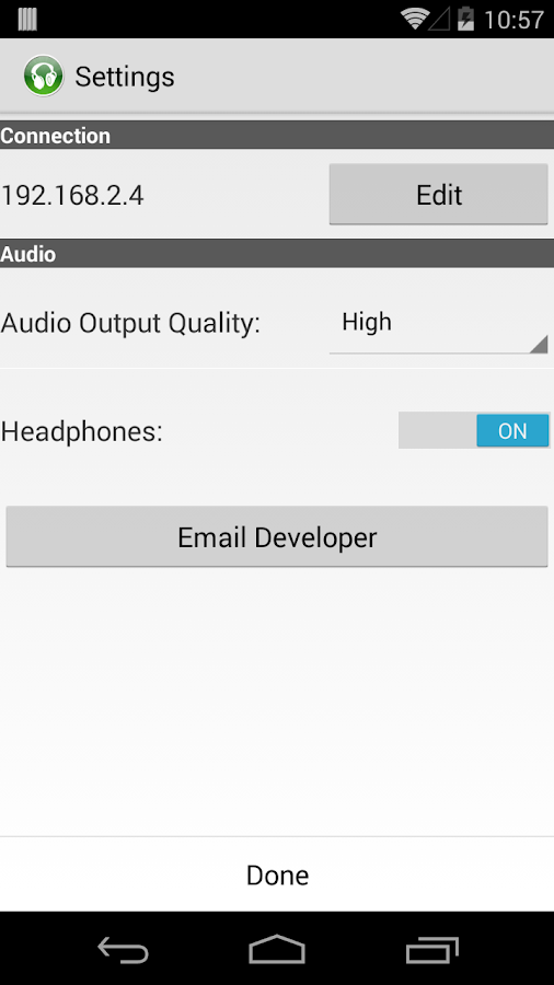 PocketAudio Headphones - screenshot