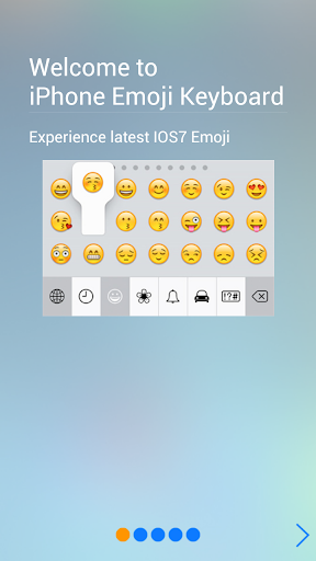 Download IOS7 Emoji Keyboard v1 2 1 Android Apps APK