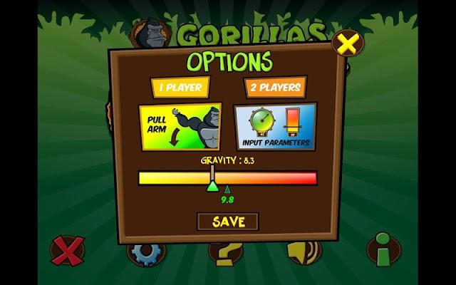 Gorillas - screenshot