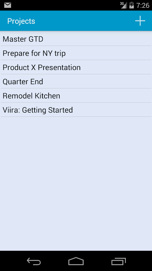 Viira - GTD On The Go - screenshot
