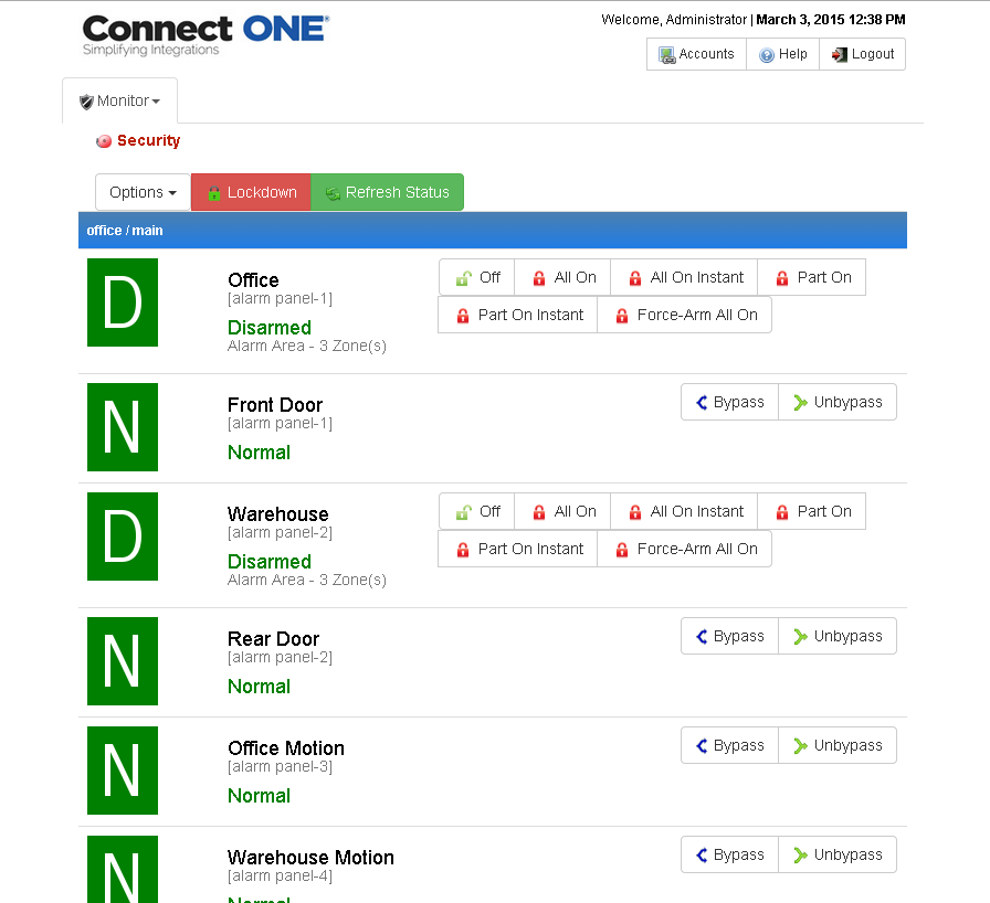 Connect ONE- screenshot