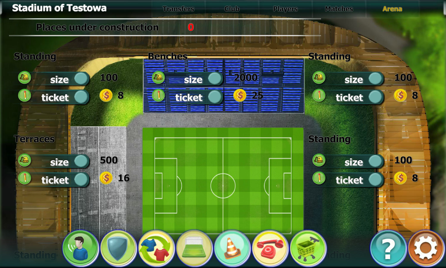 Inter Football Manager- screenshot