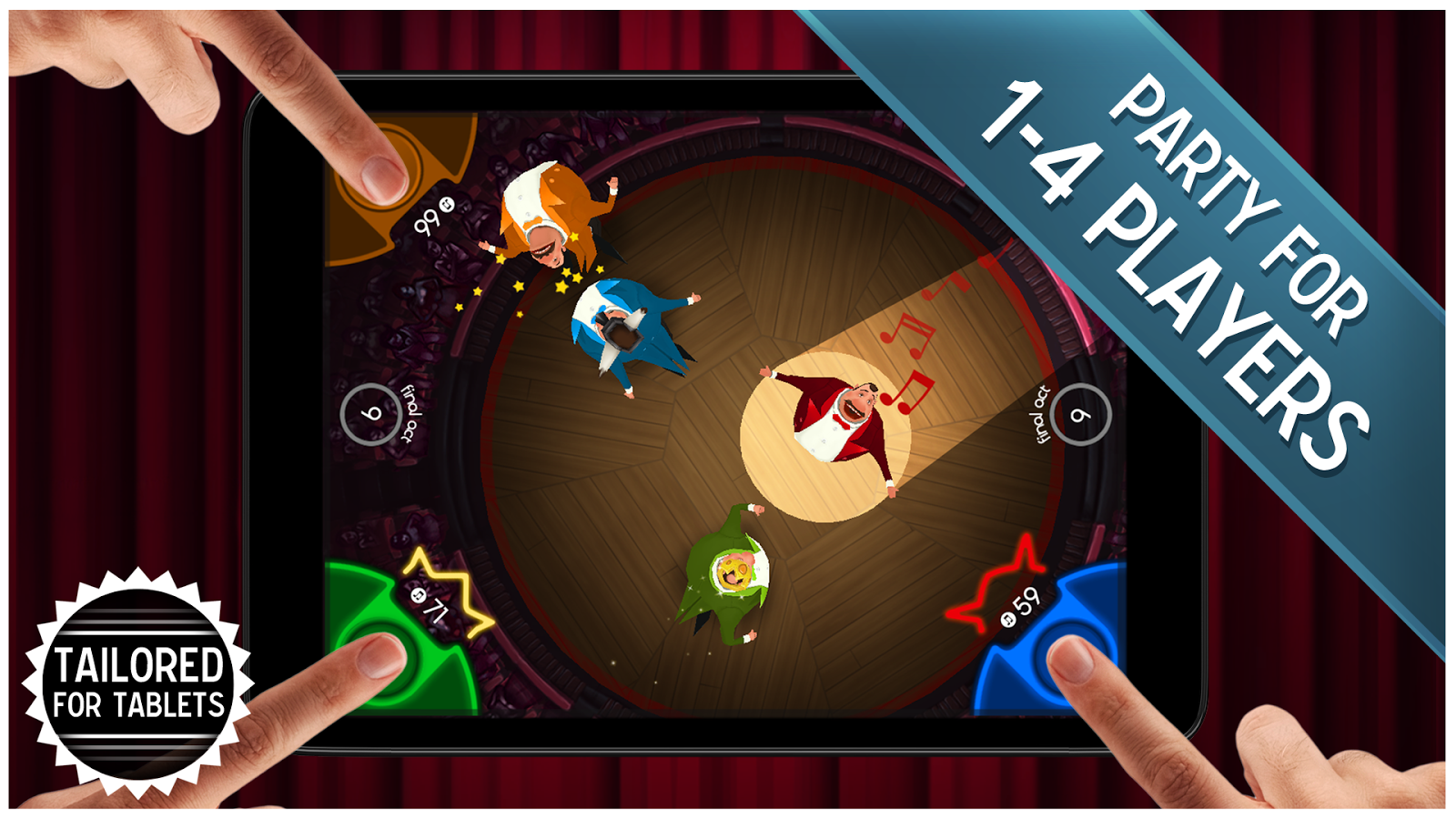 Screenshots of King of Opera - Multiplayer Party Game! for iPhone
