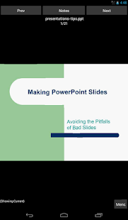 i-Clickr PowerPoint Remote- screenshot thumbnail