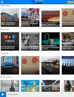 Screenshot of KLCC Public Radio App
