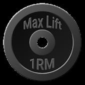 Max Lift - One Rep Maximum 1RM