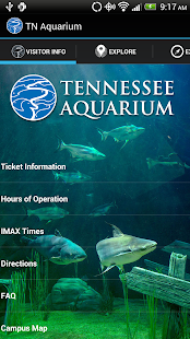 Tennessee Aquarium - screenshot thumbnail