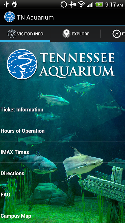 Tennessee Aquarium - screenshot