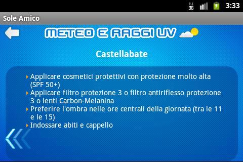 Sole Amico - screenshot