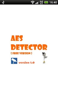 AES Detector - screenshot thumbnail