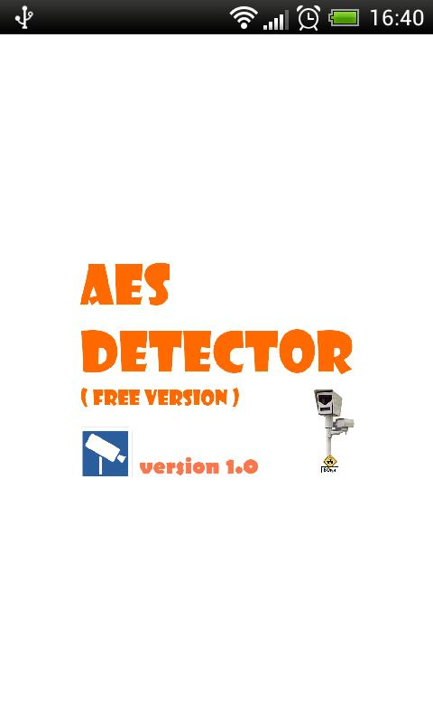 AES Detector - screenshot