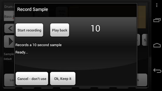 Electrum Drum Machine DEMO- screenshot thumbnail