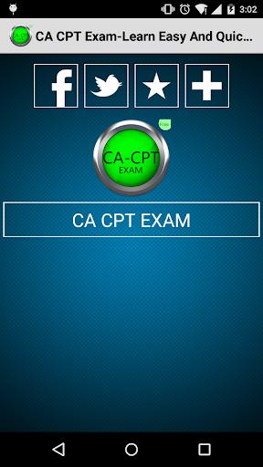 CA CPT Exam-LENQ FREE