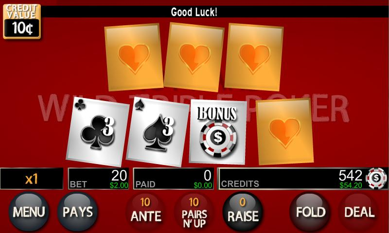 Wild Triple Poker- screenshot