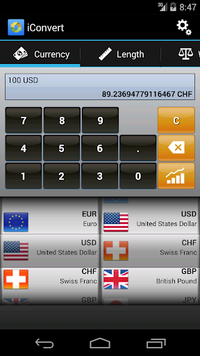 Unit Currency Converter