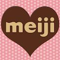 明治手作りチョコレシピ logo