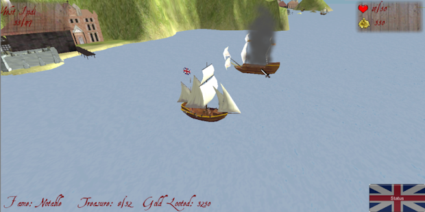 Pirate Sim- screenshot thumbnail