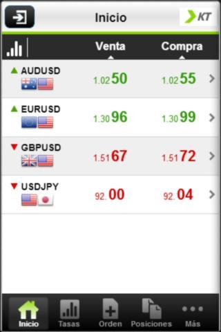 KT Financial Mobile Trader