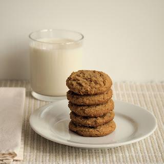 Peanut Butter Oat Bran Cookies