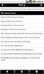 Pictorial Tarot FREE - náhled