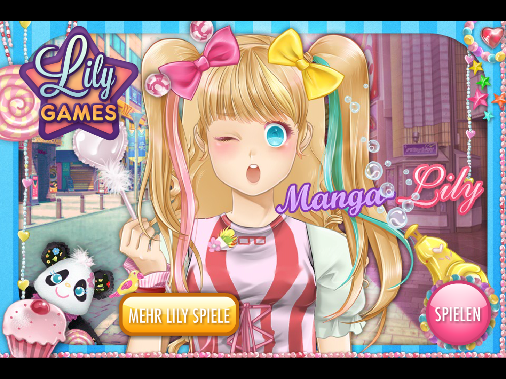 Manga Lily - screenshot