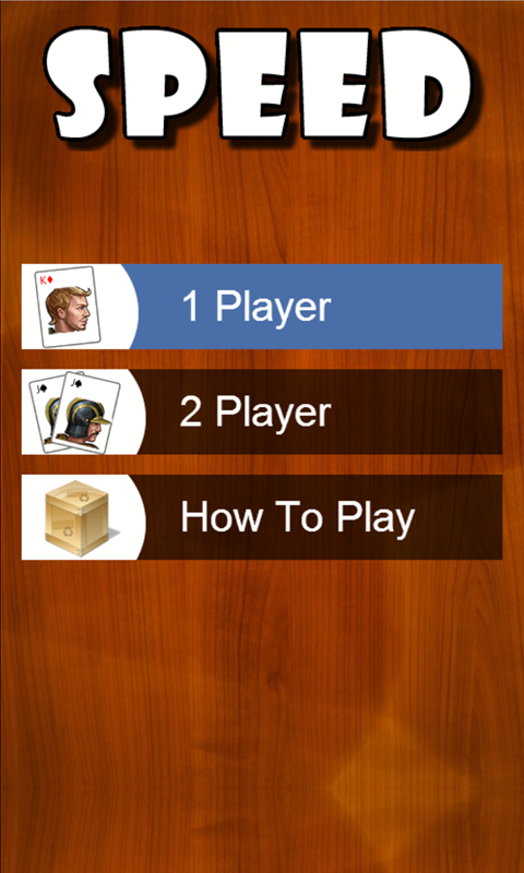 Speed Card Game (Spit Slam)- screenshot