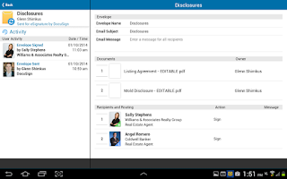 Screenshot of DocuSign TR