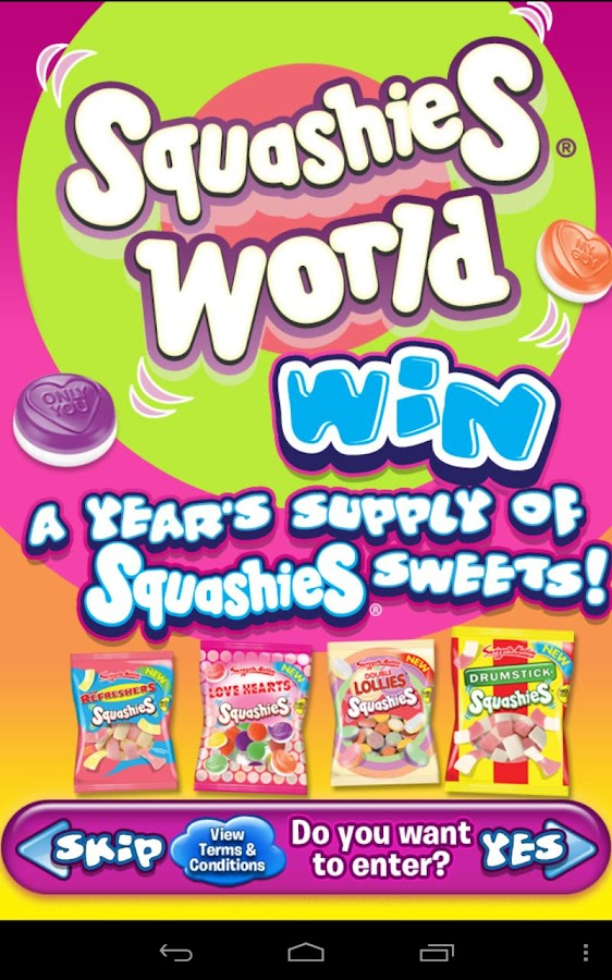 Squashies World - screenshot