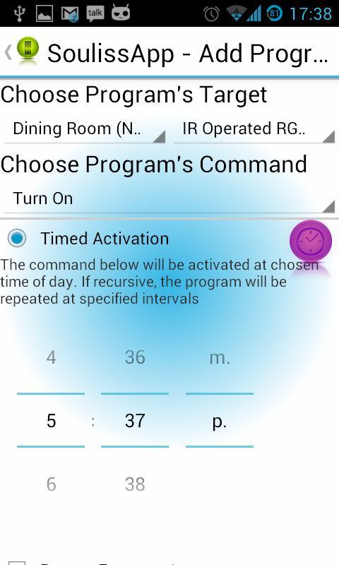 SoulissApp - Arduino SmartHome- screenshot