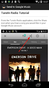 Send to Google Music screenshot 6