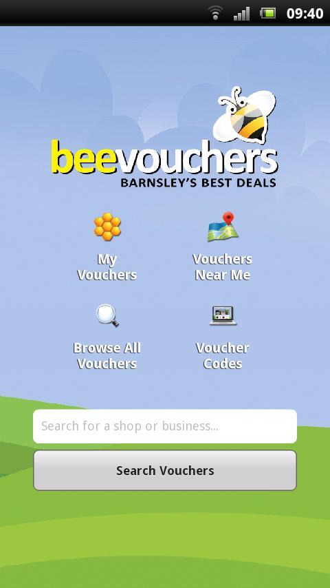 beevouchers- screenshot