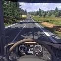 truck racing sport icon