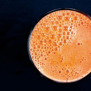 Carrot Apple Juice.