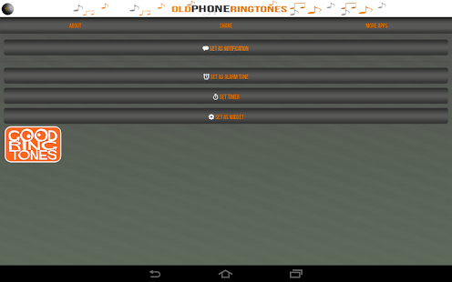 Old Phone Ringtones- screenshot thumbnail