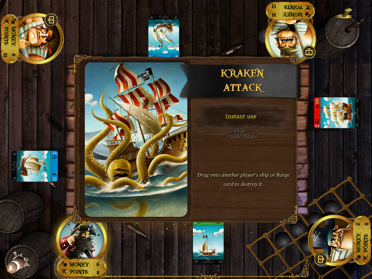 Pirates - The Board Game - screenshot
