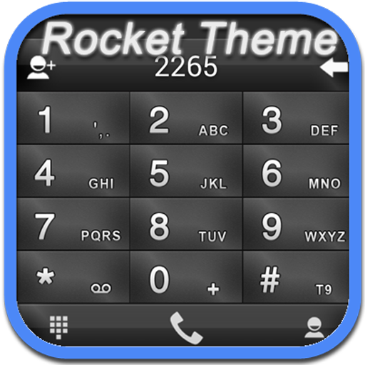 RocketDial Theme FancyDark(HD) LOGO-APP點子