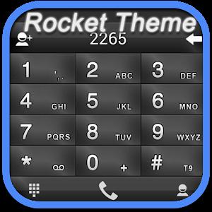 RocketDial Theme FancyDark(HD) 通訊 App LOGO-硬是要APP