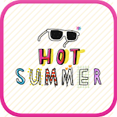 Hot Summer go launcher theme