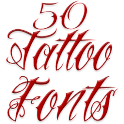 Fonts for FlipFont Tattoo icon