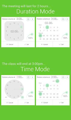 Silent Mode+ (do not disturb) - screenshot