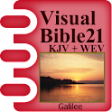Visual Bible 21 KJV + WEB logo