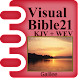 Visual Bible 21 KJV + WEB