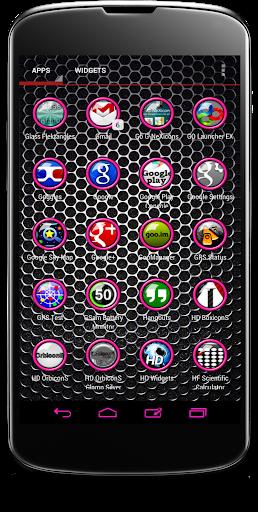 【免費個人化App】Pink Orbz Icon Pack-APP點子